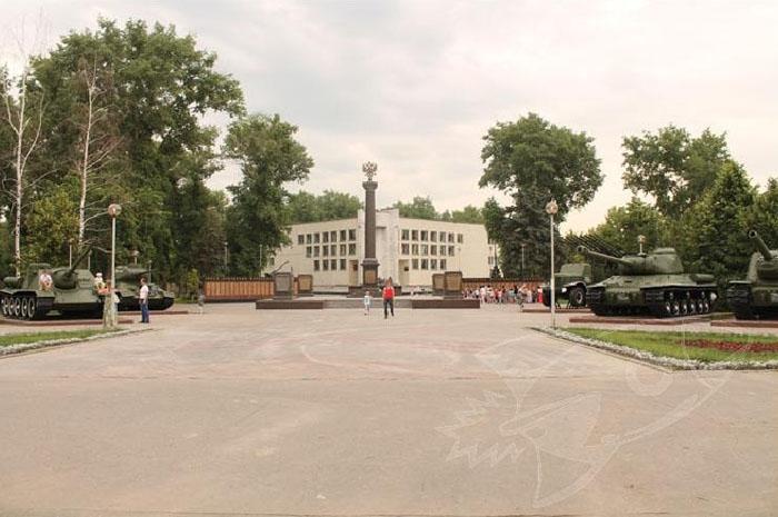 парк патриотов воронеж фото